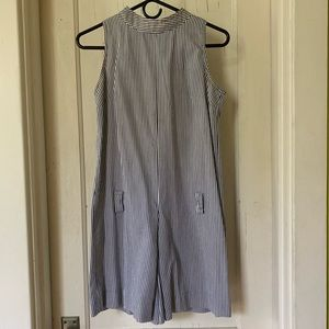 Vintage Pants - Stripped vintage romper